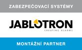 Jsme montážní partner Jablotron
